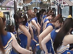 Cheerleader Crazy Japanese Kinky