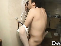 Asian Blowjob Brunette Cute Gorgeous Hardcore Nylon Uniform