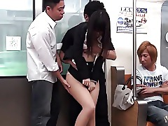 Asian Cum Cumshot Gangbang Japanese Train