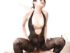 Stockings Ass Japanese Massage Pantyhose
