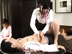 Babe Asian Ass Massage Japanese Fuck