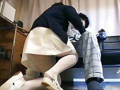 Hairy Gorgeous Fetish Doctor Deepthroat Throat Blowjob Uniform Sucking