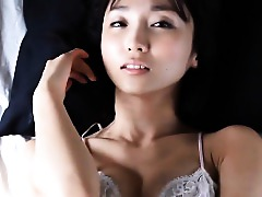 Asian Babe Beautiful Lingerie Solo
