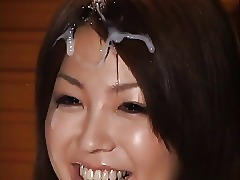Asian Beautiful Bukkake Cum Cumshot Facials Japanese