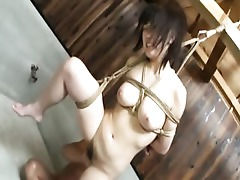 Wild Train Threesome Kinky Crazy Bondage Blowjob Asian