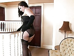 Stockings Spanking Ass Korean
