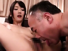 Asian Old and Young Japanese Hairy Cute Blowjob