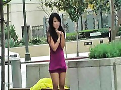 Tease Public Outdoor Masturbation Gorgeous Ass Asian