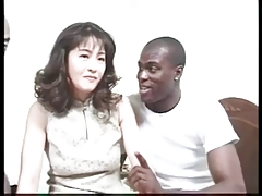 MILF Japanese Interracial Hairy Asian