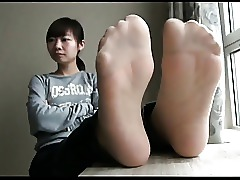 Asian Feet Fetish Foot Fetish Nylon Stockings