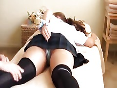 Asian Ass Classroom College Massage
