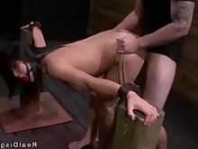 Throat Slave Rough Punished Hardcore Fetish Domination Deepthroat Bondage