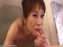 Asian Cougar Cum Deepthroat Hotel Japanese Mammy Mature MILF