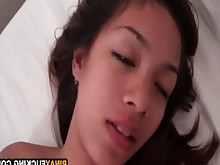Amateur Asian Couple Drunk Girlfriend Hardcore POV Pussy Really