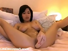 Whore Webcam Pussy Masturbation Jerking Gorgeous Dildo Asian Amateur