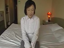 Asian Creampie Fuck Granny Japanese Masturbation Mature MILF POV