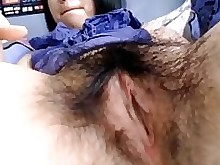 Bus Dirty Filipina Hairy Oriental Pussy