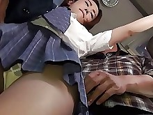 Bus Asian Teen Japanese