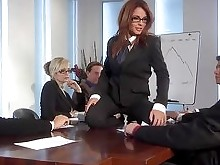 Office Blowjob Babe Asian