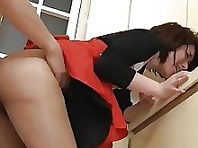 Asian Lingerie Skirt Stockings